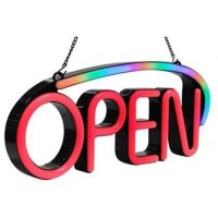 3D Led Neon Open Sign