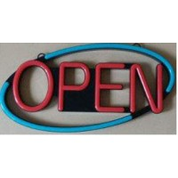 ABS Injection Molding Led Open Sign