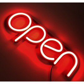 LED Open Sign like NEON with red color