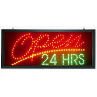 24 hours Led Open Sign