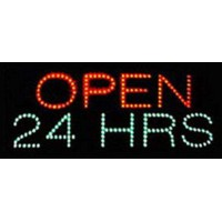 24 Hours Led Open Signs