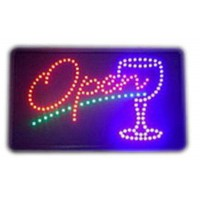 Led Open Bar Sign