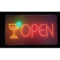 Led Open Sign for Bar