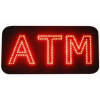 Double Lines ATM Led Signs