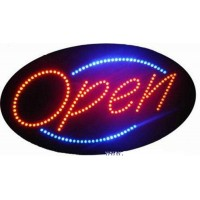 Elliptical Shape Led Open Signs
