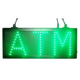 Green Color Led ATM Signs