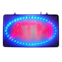 Led ATM Signs with ABS Frame