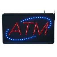Led ATM Signs with Oval