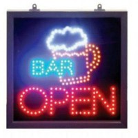 Led Open Signs for a Bar