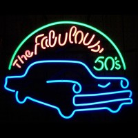 Fabulous 50s Neon Sign