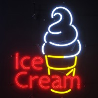 Ice Gream Neon Sign