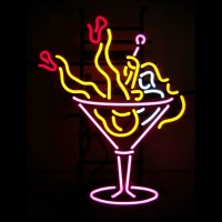 Martinis Girl Neon Sign