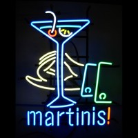 Martinis Neon Sign