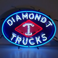Diamondt Trucks Neon Sign