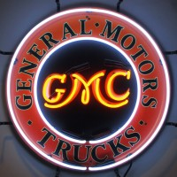 General Motors Trucks GMC Neon Sign