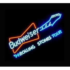Manufacturer and Online Store of Budweiser Guitar Neon Beer Sign- WL-NBN002