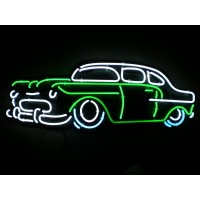 55 Chevy Neon Sign