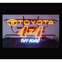 Toyota 4x4 Off Road Neon Sign