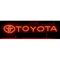 Toyota Neon Sign