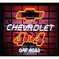 Chevrolet 4X4 Off Road Neon Sign