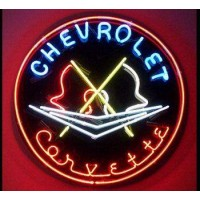 Chevrolet  Car Neon Light  Signs
