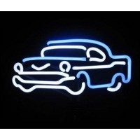 57 Chevy Car Neon Sign