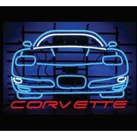 Corvette Chevrolet Neon Sign
