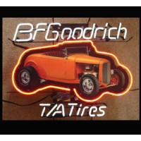 BF Goodrich Tires Neon Sign