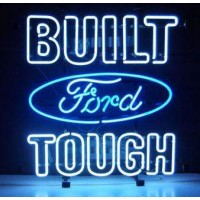 Built Ford Touch Neon Sign