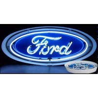 Metal Can Ford Neon Sign