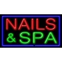 Nails SPA Neon Sign
