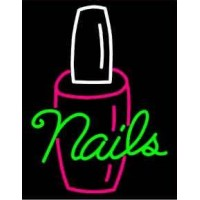 Neon Nails Signs