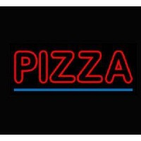 Double letter Pizza  Neon Signs