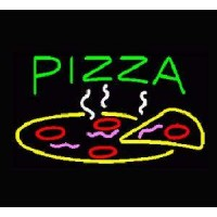Neon Pizza Signs