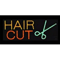Hair Cut  Led Sign