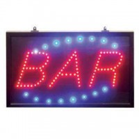 LED Bar Signs with ABS Frame