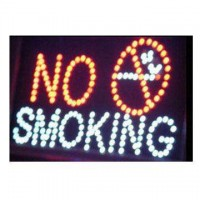 No Smoking Led Sign
