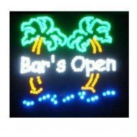 Open Led Bar Sign