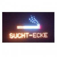 SUCHT ECKE Led Sign ( For Germany)