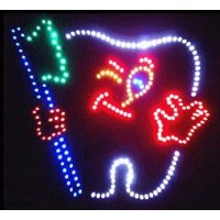 Teeth Led Sign
