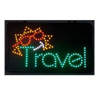 Travel Led Custom Sign