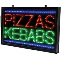 Pizza Kebabs Led Sign