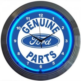 Genuine Ford Parts Neon Clock